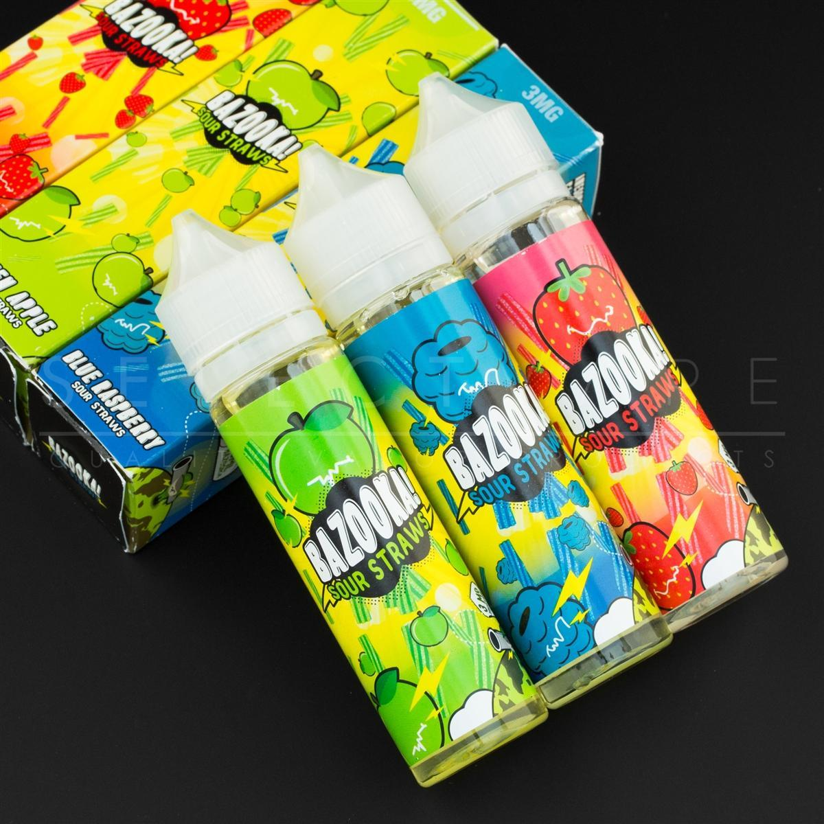Bazooka - Sour Strar Variety 3 Pack 60ml Bottles