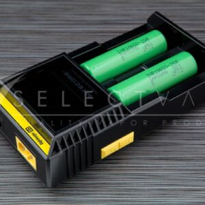 Nitecore D2 + Green Samsung 25r 18650 Batteries (Combo)