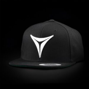 "Select Vape Premium ""Tri-Point"" Snapback Black 2"