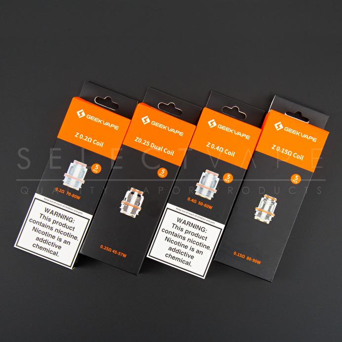 GeekVape Z Mesh Replacement Coils - 5 Pack