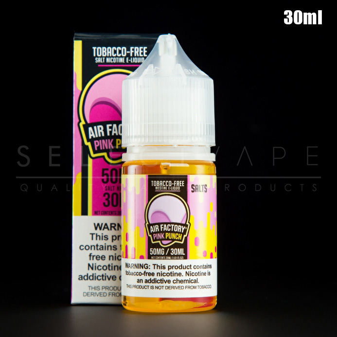 Air Factory Synthetic Nicotine - Pink Punch Nic Salt 30ml