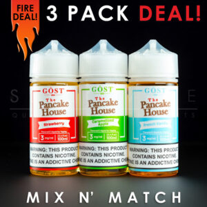 The Pancake House - Mix and Match (3 Pack) 300ml