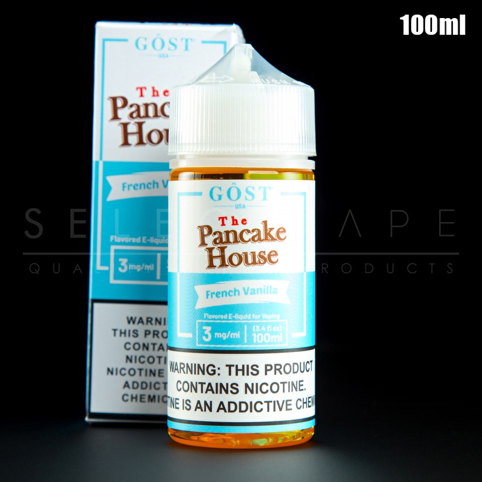 The Pancake House - French Vanilla Eliquid 100ml