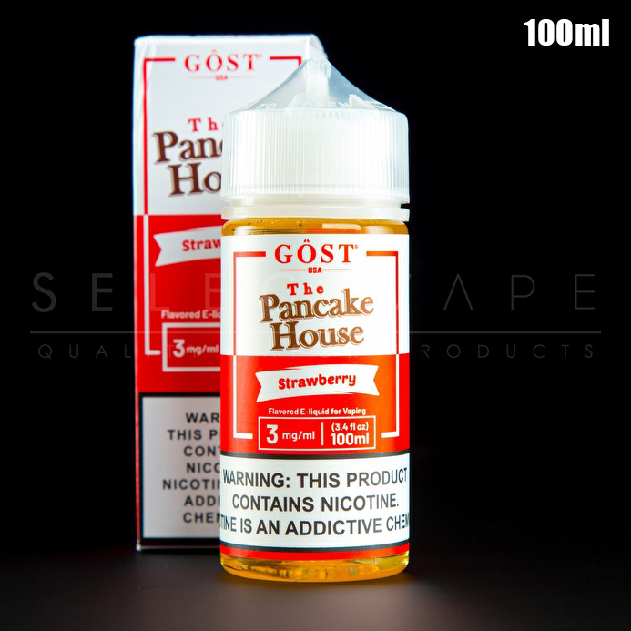 The Pancake House - Strawberry Eliquid 100ml