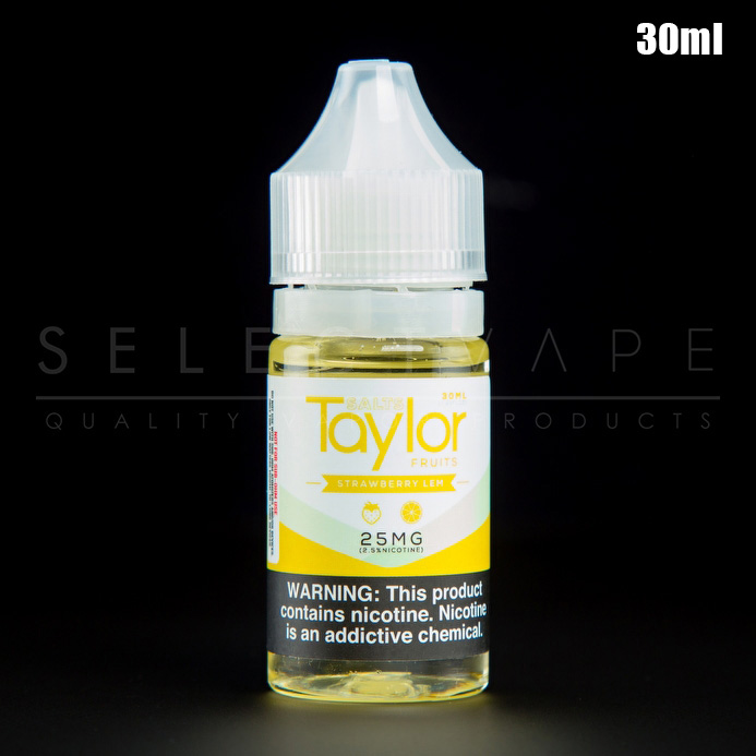 Taylor Salts - Strawberry Lem Nic Salt 30ml